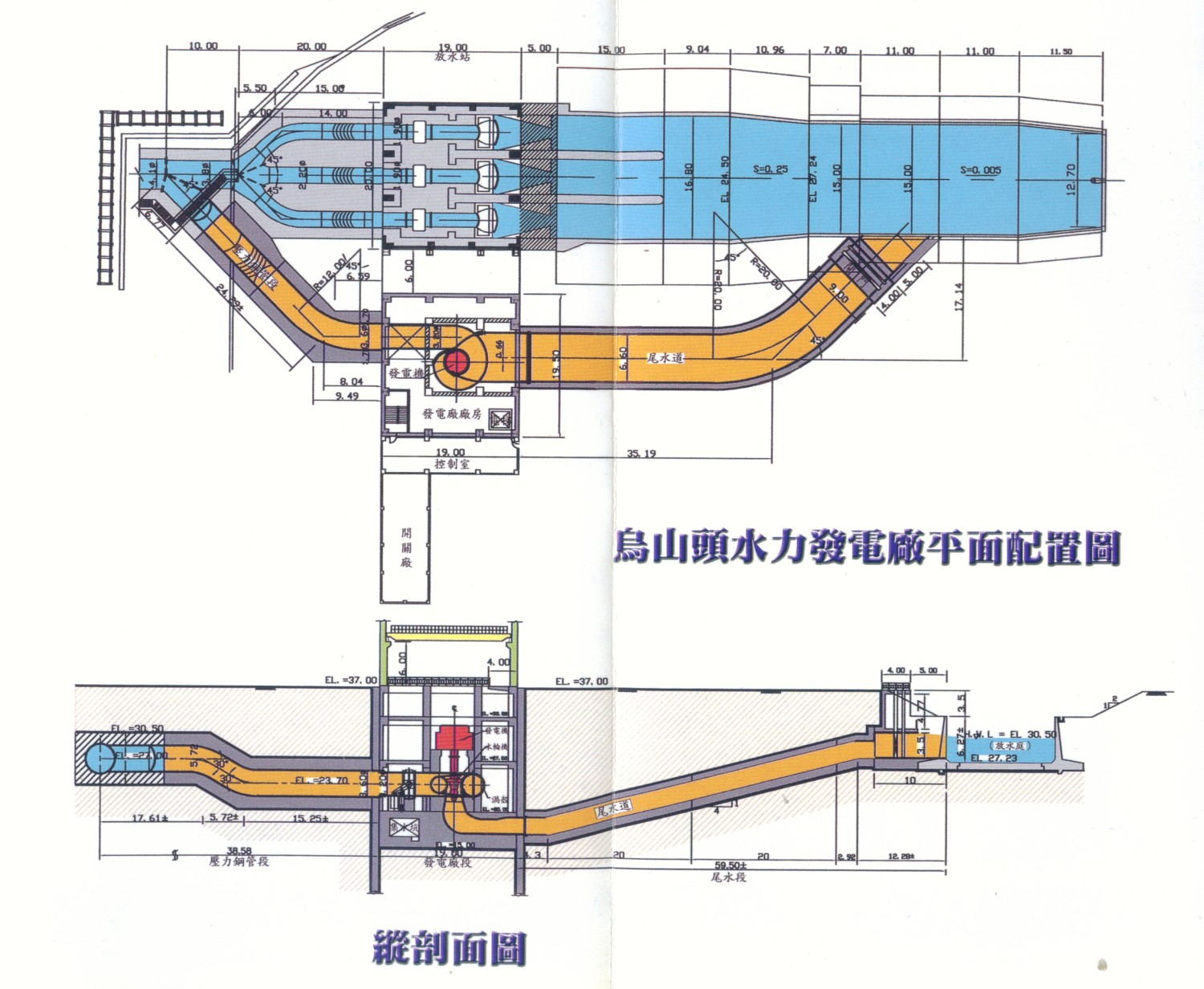 The Largest Irrigation Engineering In Taiwan Chia Nan Canal Hydroelectric Power Plant Schematic Diagram Water Wheel